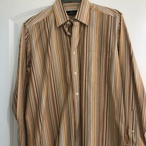 NEW Men's Bugatchi Uomo Button Down medium